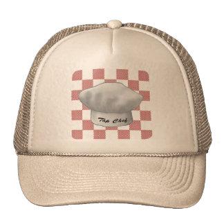 Checker Chef Hat