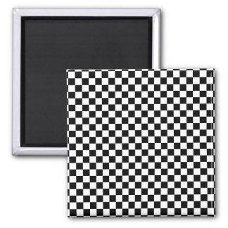 Checker Chess Board Square Magnet