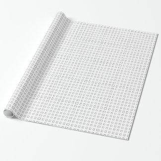 Checker Design Wrapping Paper