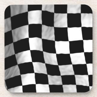 Checker Flag Coaster