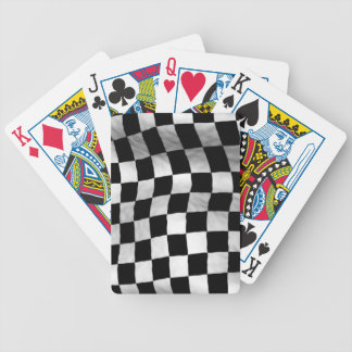 Checker Flag Playing Cards