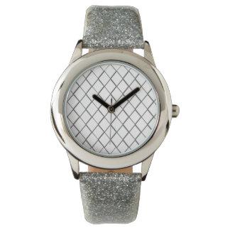 Checker Glitter Watch