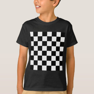 Checker Pattern T-Shirt