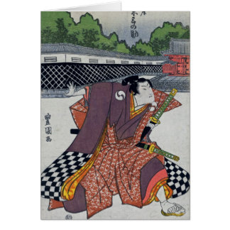 Checker Samurai Card