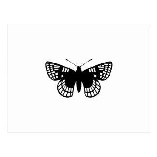 Checker Spot Butterfly Postcards