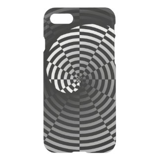 Checker Yin Yang by Kenneth Yoncich iPhone 7 Case