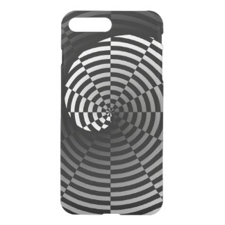 Checker Yin Yang by Kenneth Yoncich iPhone 7 Plus Case