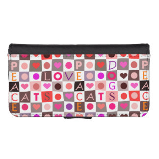 Checkerboard Cat & Dog Love