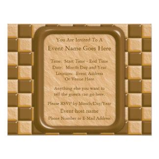 Checkerboard - Chocolate Peanut Butter Announcement