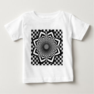 Checkerboard Flare T Shirt