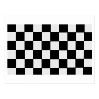 Checkerboard Postcard