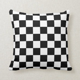 Checkerboard Racing Accent Pillow