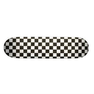 Checkerboard Skateboard Deck