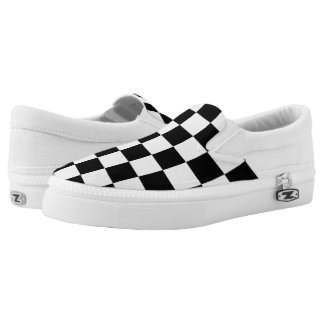 Checkerboard Sneakers