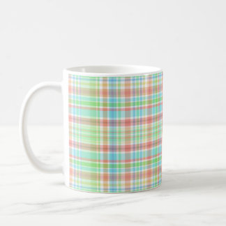 Checkered 325 ml  Classic White Mug
