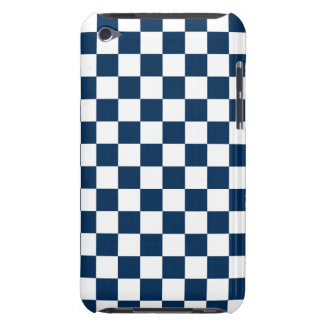 Checkered Blue and White iPod Touch Covers