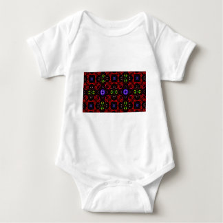 Checkered design Kaleidoscope Baby Bodysuit