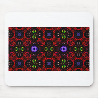 Checkered design Kaleidoscope Mouse Pad