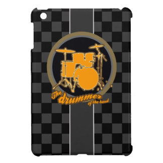 checkered drummer cover for the iPad mini