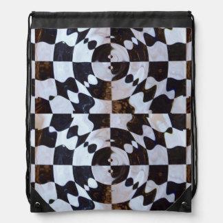 Checkered Flag Distorted Rucksack