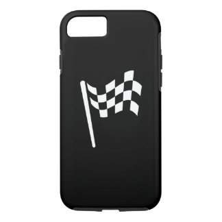 Checkered Flag Pictogram iPhone 7 Case