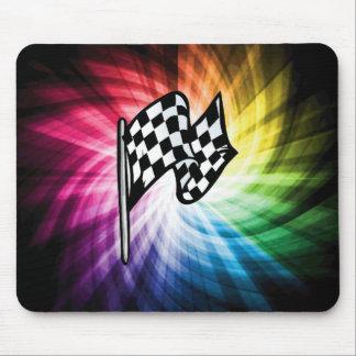 Checkered Flag Spectrum Mousepads