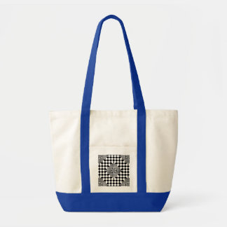 Checkered Illusion by Kenneth Yoncich Impulse Tote Bag