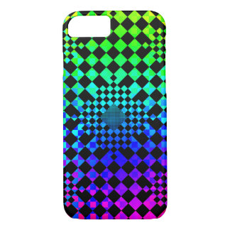Checkered Illusion iPhone 7 Case