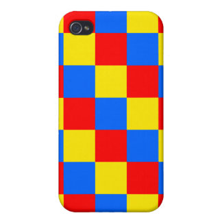 Checkered iPhone 4 case