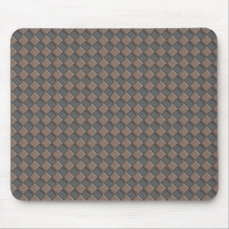 Checkered Leather Mouse Mat