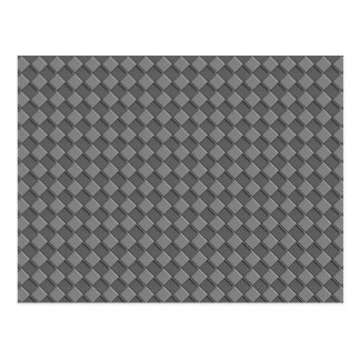 Checkered Leather Post Card