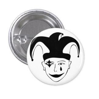 Checkered MTJ 3 Cm Round Badge