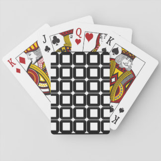 Checkered Playing Cards