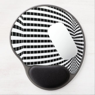 Checkered Sky Scrapers Gel Mousepad