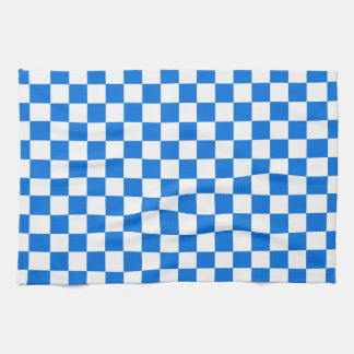 Checkered Tile Pattern Tea Towel