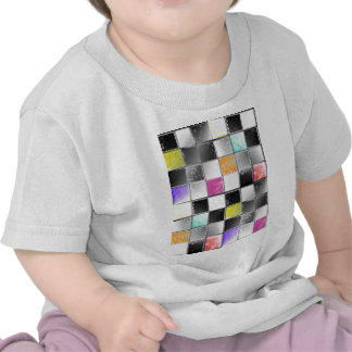 checkers candy colors jpg t-shirt