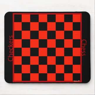 Checkers Chess mp Mouse Mat