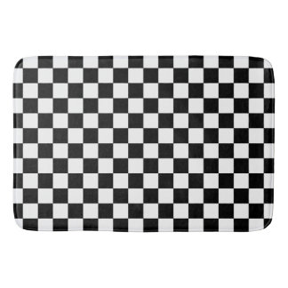 Checkers..with your own colors. bath mat