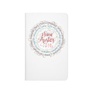 Checklist Notebook - Jane Austen Period Dramas