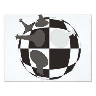 Checkmate 11 Cm X 14 Cm Invitation Card