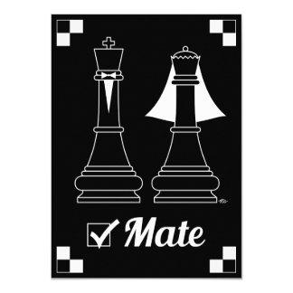 Checkmate 11 Cm X 16 Cm Invitation Card