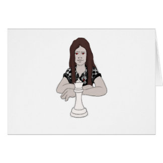 checkmate 2 greeting card