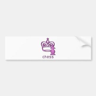 Checkmate Bumper Sticker