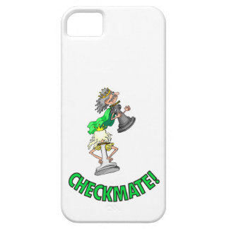 Checkmate! Chess pieces (brainy board game) iPhone 5 Case