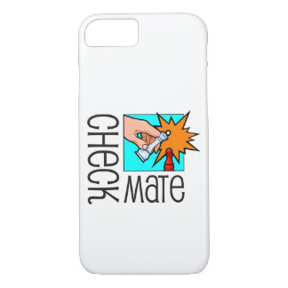 Checkmate! Chess pieces (brainy board game) iPhone 7 Case