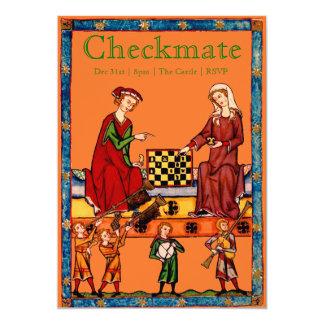 Checkmate - Chess Tournament Invitation