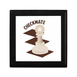 Checkmate Keepsake Box