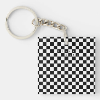 Checkmate Key Ring