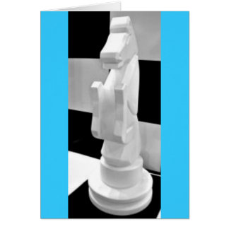Checkmate, Knight Chess Piece Cards