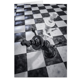 Checkmate Knockout Note Card